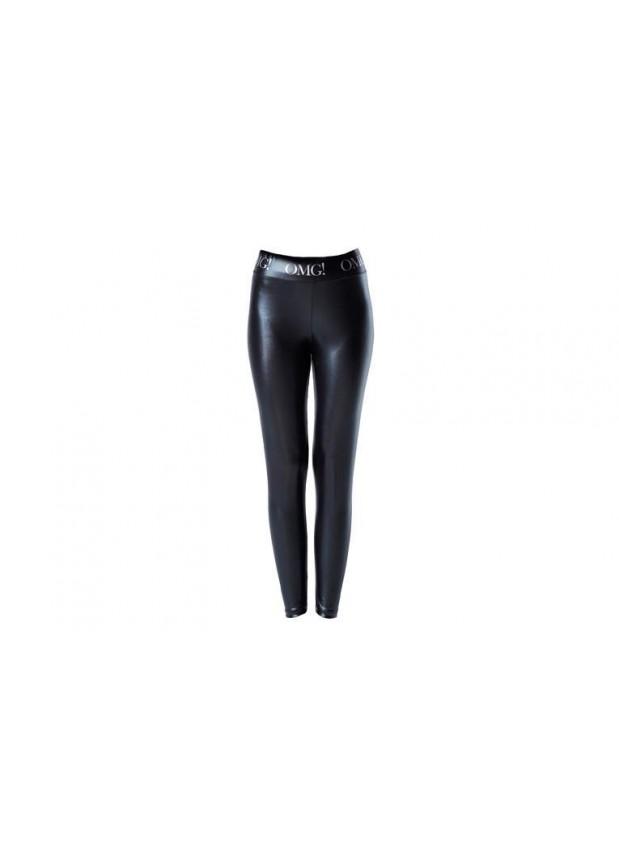Double Dare OMG! Platinum BLACK Leggins-Medium Size  Леггинсы женские ЧЕРНЫЕ