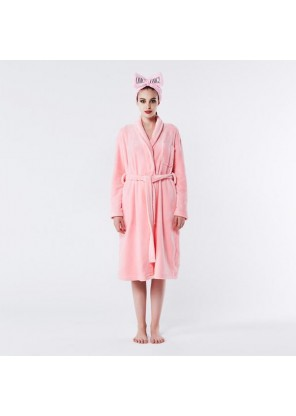 Double Dare OMG! SPA ROBE PINK Lager X-Large size  халат женский