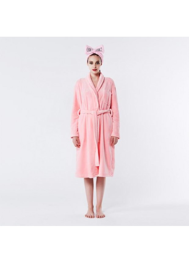 Double Dare OMG! SPA Robe Pink Small / Medium СПА халат женский